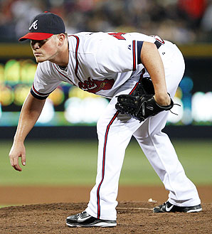 Craig Kimbrel Pitching Crouch Stance Close Up